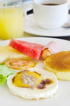 Volledige maaltijd voor ontbijt