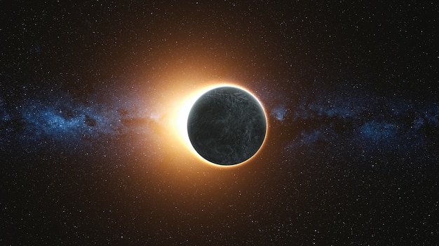 Volledige zonsverduistering