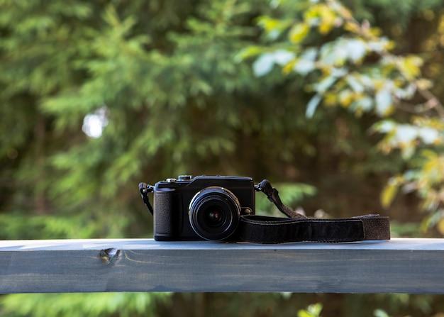 Vooraanzicht camera apparaat aan boord