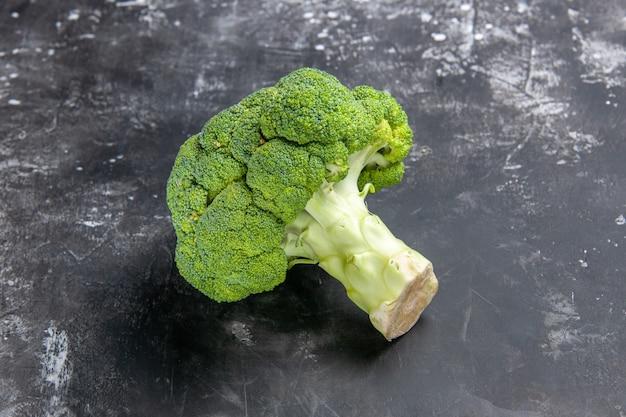 Vooraanzicht nuttige broccoli