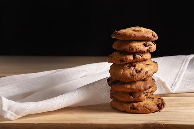 Vooraanzicht van cookies