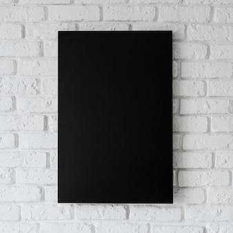 Vooraanzicht van leeg frame concept