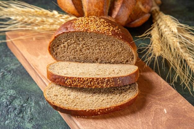 Vooraanzicht vers gesneden brood