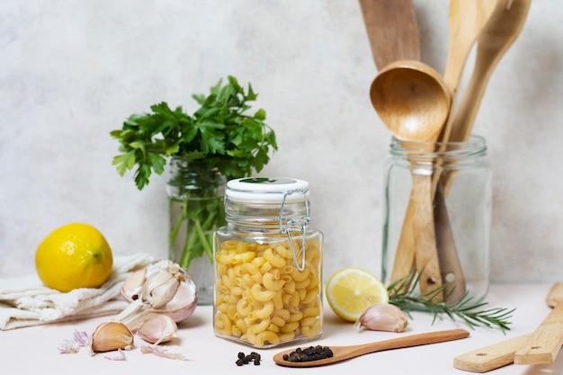Vooraanzicht voedselregeling voor spa-concept