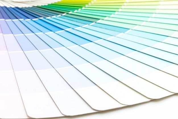 Voorbeeld kleuren catalogus