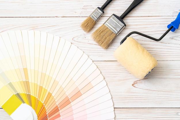 Voorbeeld kleurencatalogus pantone of kleurstalenboek