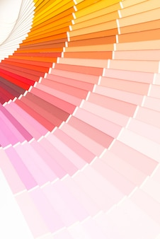 Voorbeeld kleurencatalogus pantone