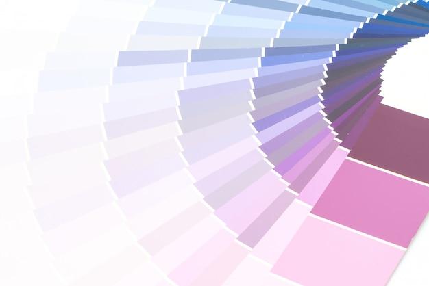 Voorbeeld kleurencatalogus