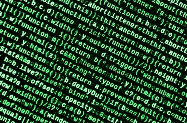 Voorbeeld van computerprogramma.