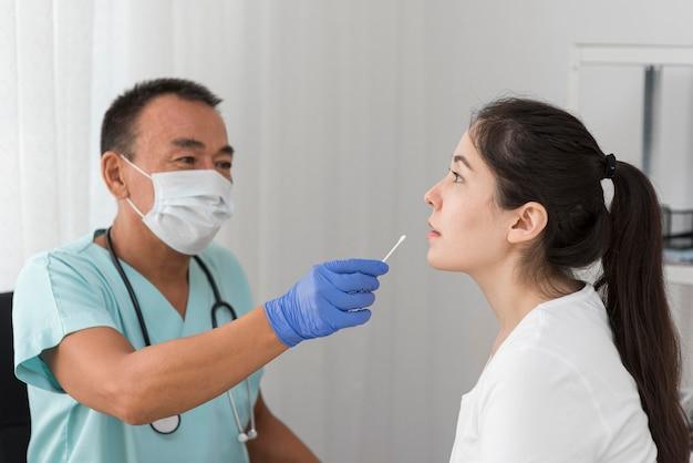 Voorbeeldprocedure voor het coronavirus