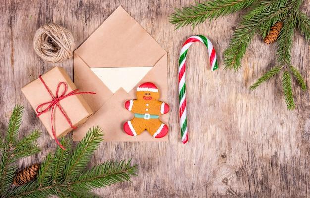 Voorbereiden op kerst en cadeaus inpakken