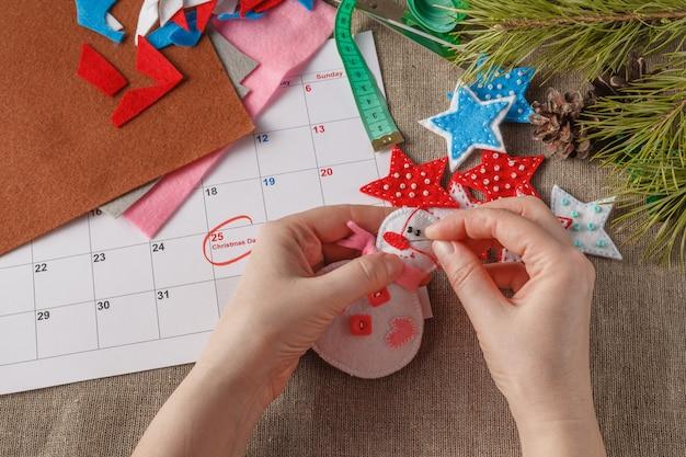 Voorbereiding op de komende kerst