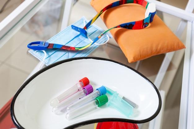 Voorbereiding van de analyse van bloedonderzoek