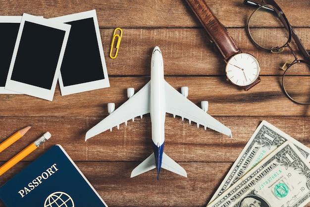 Voorbereiding voor het reizen concept