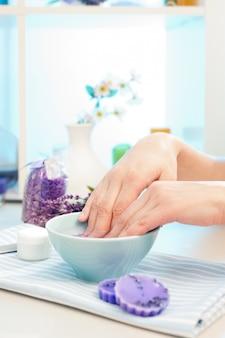 Voorbereiding voor manicure