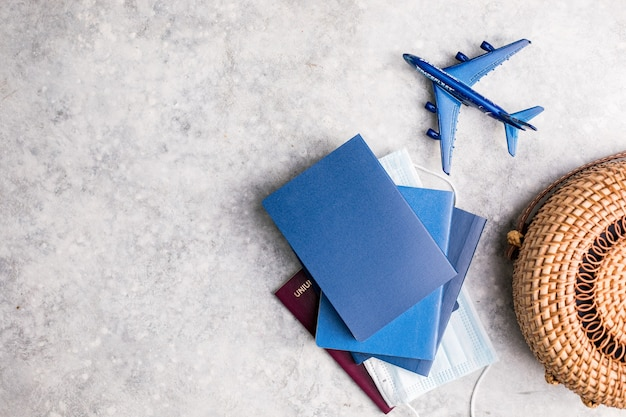 Voorbereiding voor reizen reizen reis vakantie vakantie concept