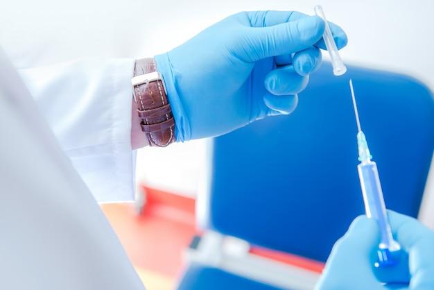 Voorbereiding voor vaccinatie