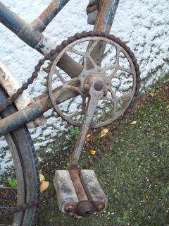 Vooroorlogse somme bicyclette - somme-cyclus w, nueseeland