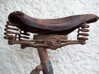 Vooroorlogse somme bicyclette - somme-cyclus w, seat