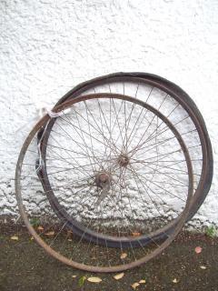 Vooroorlogse somme bicyclette - somme-cyclus w, skirtguard