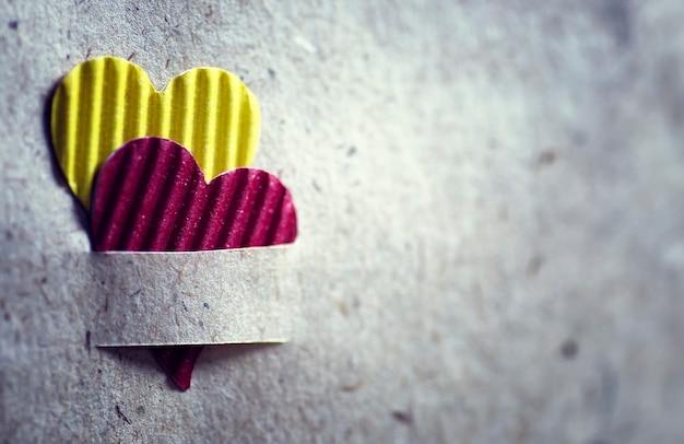 Vorm hart textuur papier achtergrond