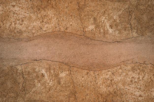 Vorm van bodemlagen, de kleur en texturen