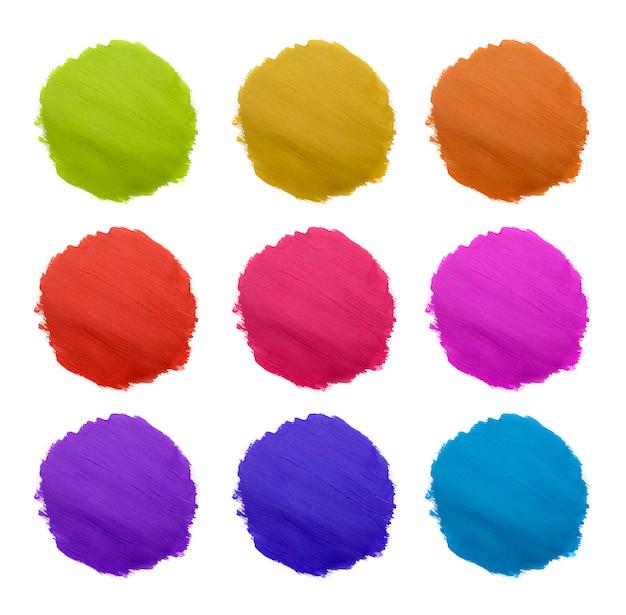 Vorm van verschillende kleur