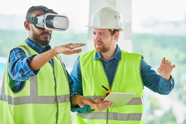 Vr-simulator gebruiken voor visualisatie van gebouwen