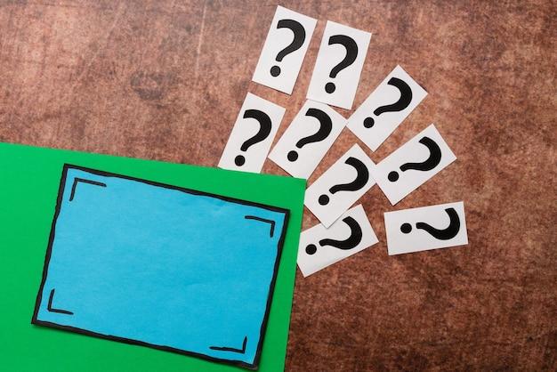 Vragen schrijven nieuwe ideeën bedenken, verwarringsmysterie doorbreken, relevante vragen stellen, logisch redeneren begrijpen, belangrijke opmerkingen opnemen