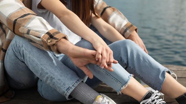 Vriend en vriendin tijd samen doorbrengen