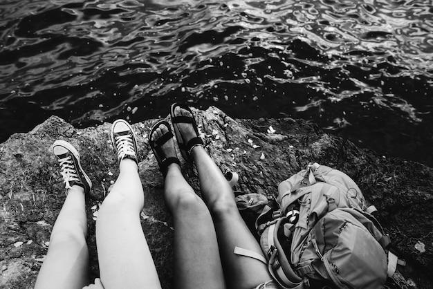 Vrienden die samen reizen