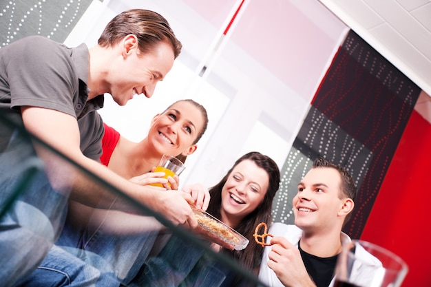 Vrienden en feest