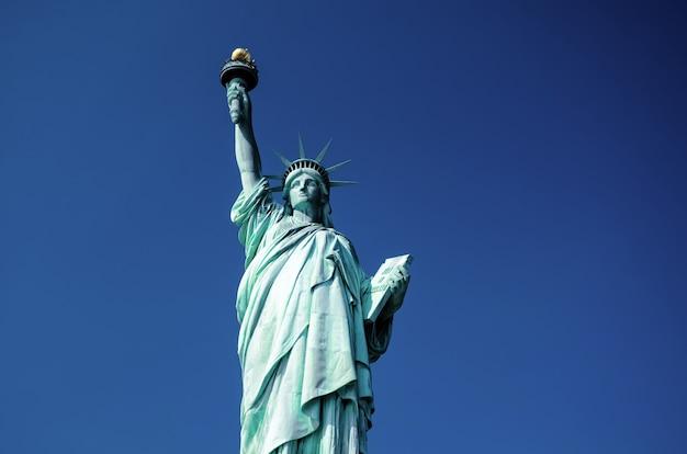 Vrijheidsbeeld, new york city, verenigde staten