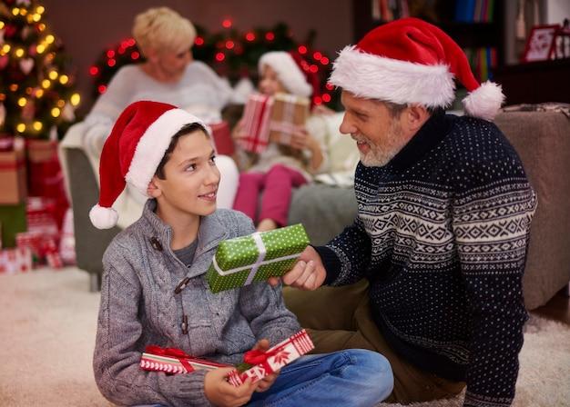 Vrolijk kerstfeest voor jou, mijn zoon