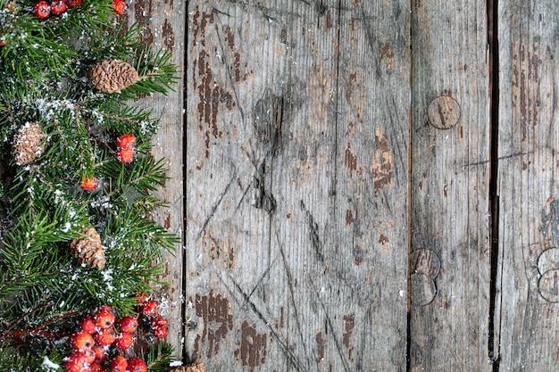 Vrolijke kerstmis en gelukkige vakantie begroeting achtergrond