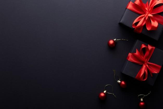 Vrolijke kerstmis en gelukkige vakantie wenskaart, frame