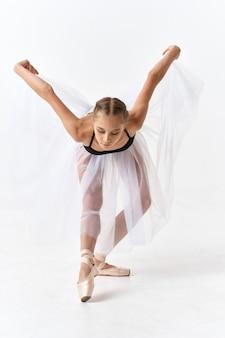 Vrouw ballerina ballet dansen