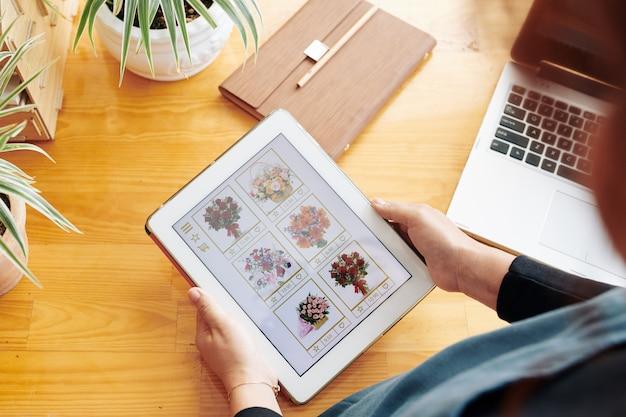 Vrouw boeket online bestellen