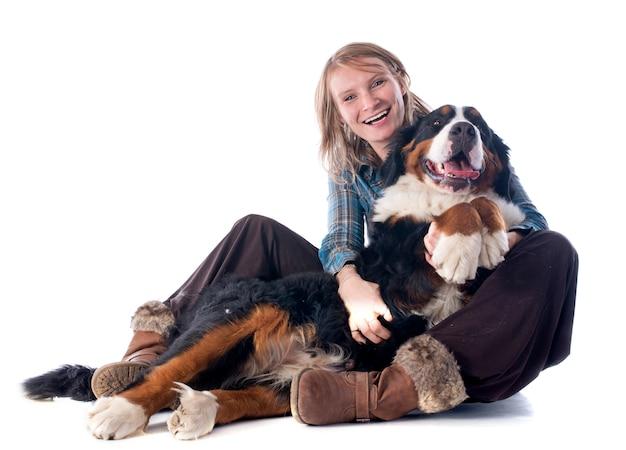 Vrouw en hond