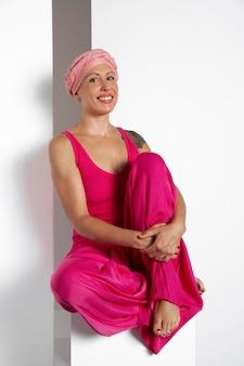 Vrouw herstellende van borstkanker