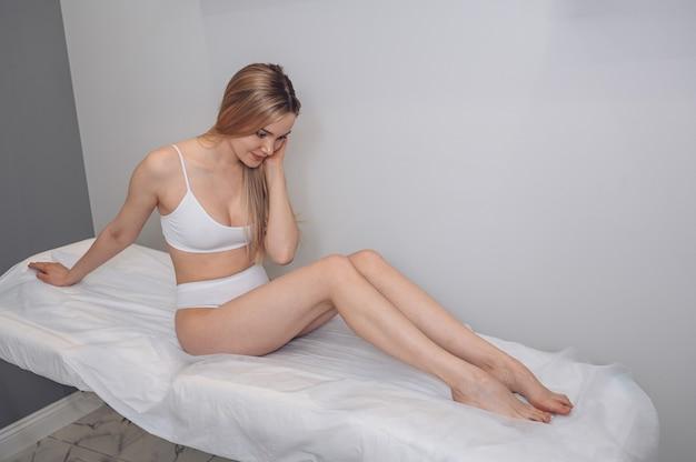 Vrouw lichaamsverzorging
