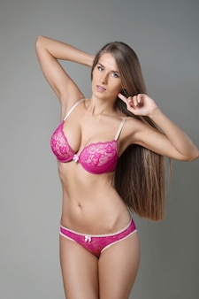 Vrouw met mooi lichaam