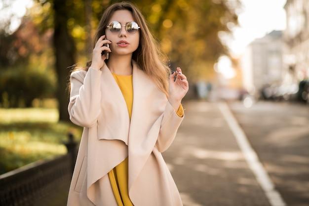 Vrouw met telefoon