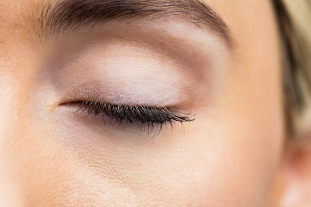 Vrouw ogen