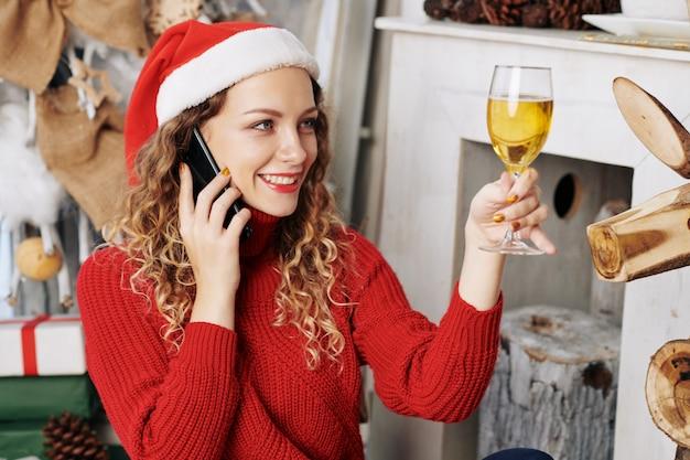 Vrouw roept op kerstavond