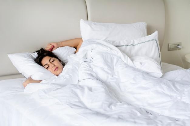 Vrouw slapen