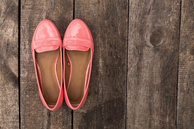 Vrouw zomer platte schoenen