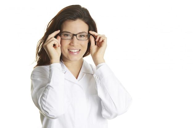 Vrouwelijke arts portret