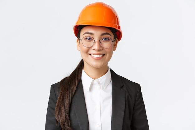 Vrouwelijke ingenieur.