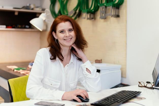 Vrouwelijke ondernemer